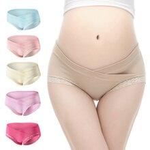 Pregnancy Cotton Low-waist Underwear Maternity Briefs Panties Pregnant Belly Support Shorts Underpants недорого