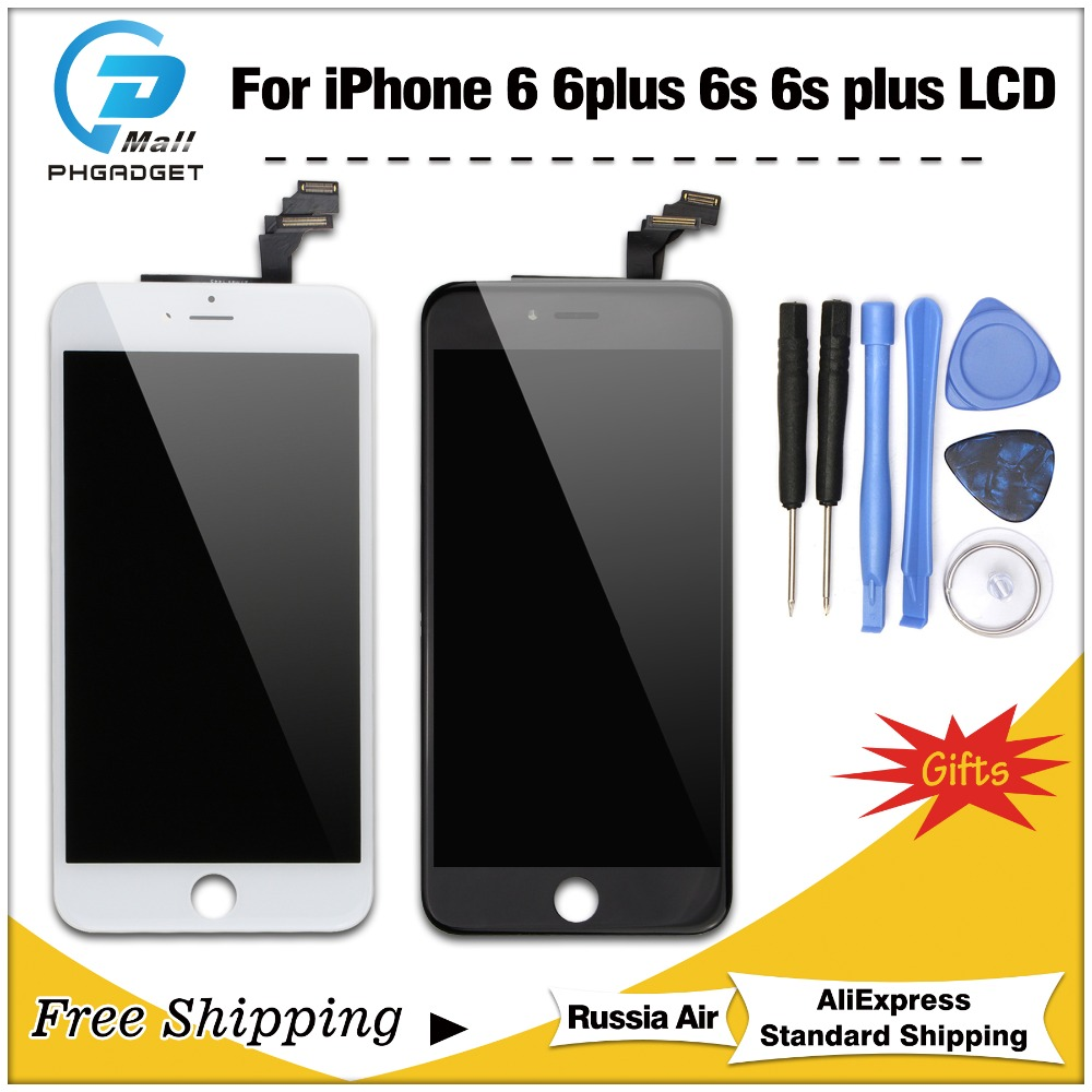 1PCS For iPhone 6 6S Plus LCD Full Assembly Complete 100% With 3D Force Touch For iPhone 6Plus Screen Replacement Display image