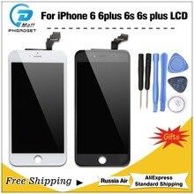 1 шт. для iPhone 6 6 S Plus ЖК-дисплей полная сборка 100% с 3D Force Touch для iPhone 6 Plus замена экрана дисплей