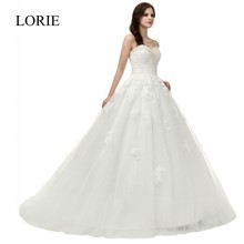 2016 Robe De Mariee Cheap Ball Gown Wedding Dress Real Photo Sweetheart Crystal Off Shoulder Romantic Bridal Gowns Fast Shipping