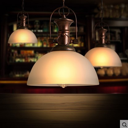American Retro Loft Style Vintage Industrial Lighting Pendant Lights In Edison Lamp,Lamparas Colgantes