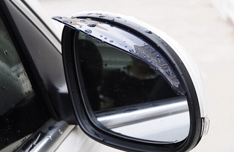 2017 new car style rearview mirror eyebrow rain shade for luxgen 5 7 suv u6 turbo