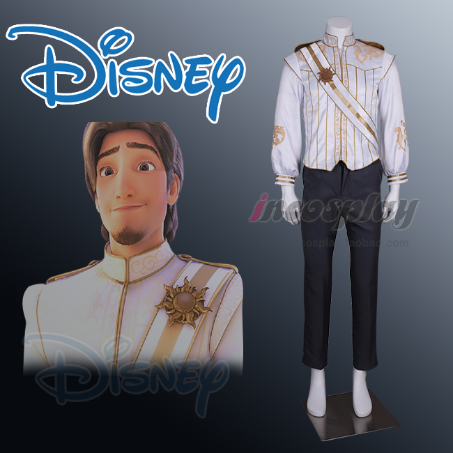 Tangled Rapunzel Flynn Rider Costume cosplay outfit Wedding Ever After Halloween Cosplay Costume for adult men