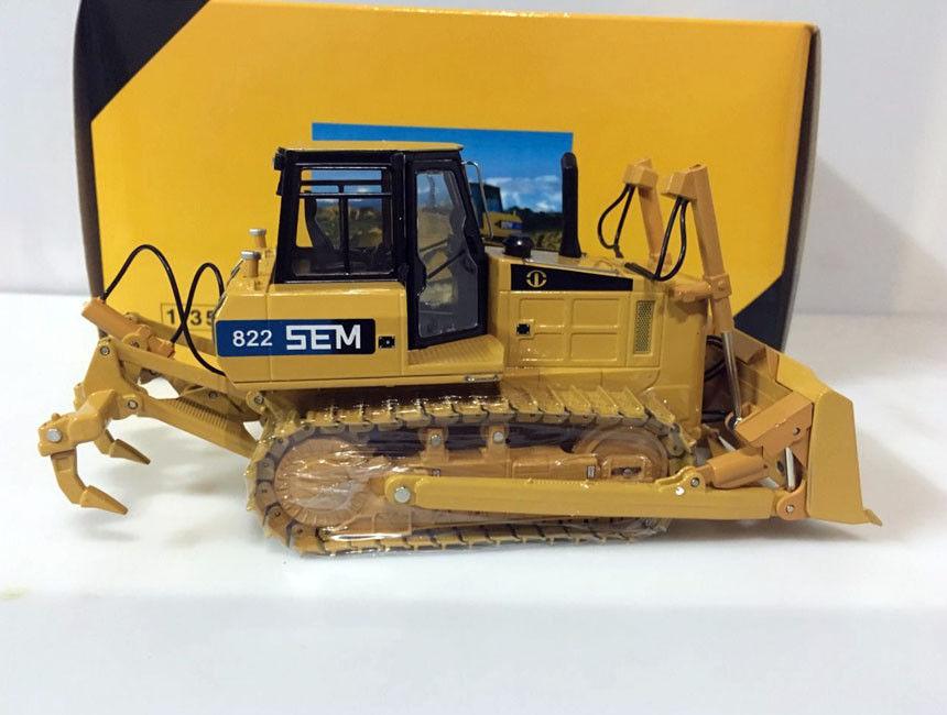 SG scale Model Caterpillar SEM 822 Bulldozer 1/35 Scale Die-Cast weise toys 1 32 scale die cast metal model fendt favorit 926 vario