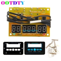OOTDTY Red LED Digital Temperature Controller Switch Sensor 12V 10A Digital Thermostat MY5 10