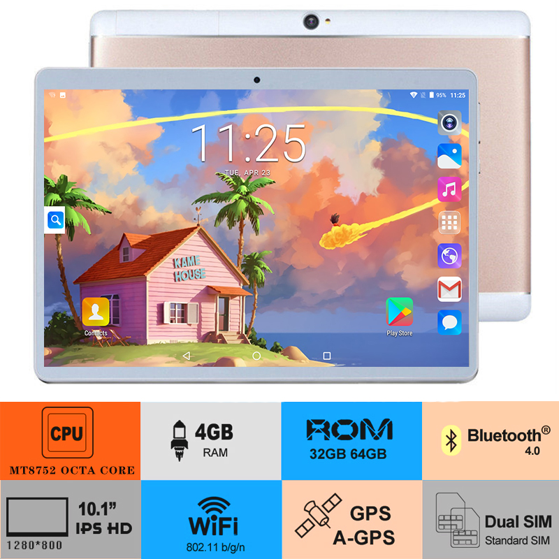 idoshow 2019 10 inch Octa Core 3G 4G FDD LTE Tablet pc 4GB RAM 64GB ROM Android 8.0