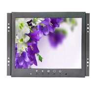 9.7 inch IPS 1080p Open Frame Touch Monitor Mini Touch Monitor HDMI Industrial Medical Resistive touch monitor