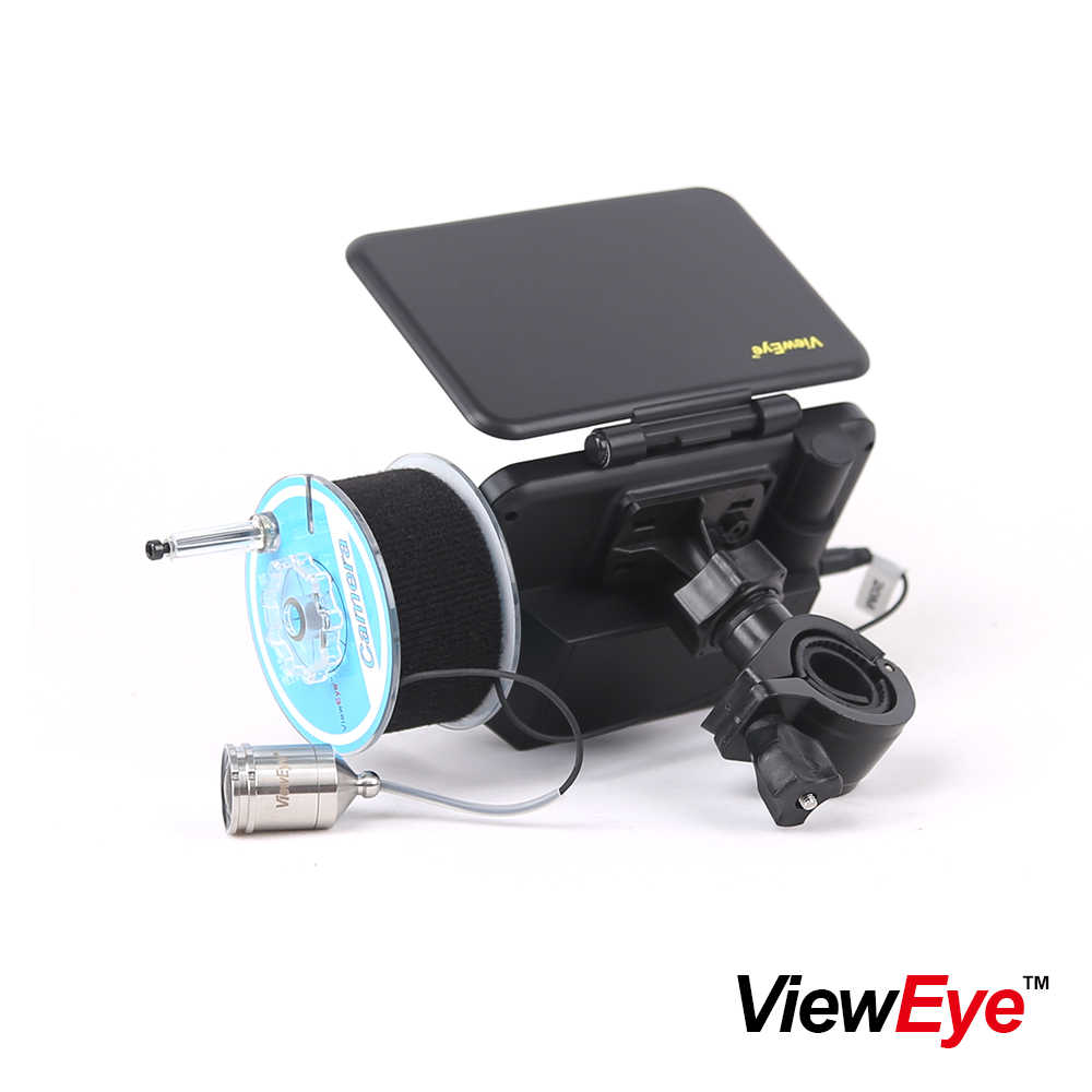 "ViewEye Original 4.3"" 20M Fish Finder 1000TVL Underwater Fishing Camera Fishfinder Infrared lamp IR LED Fishcam 140 Degree angle"