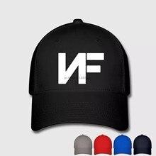 NF música Real Logo imprimir gorras sombreros Unisex hombres mujeres  algodón gorra de béisbol casquillo de los deportes al aire . 95da8bc4d71