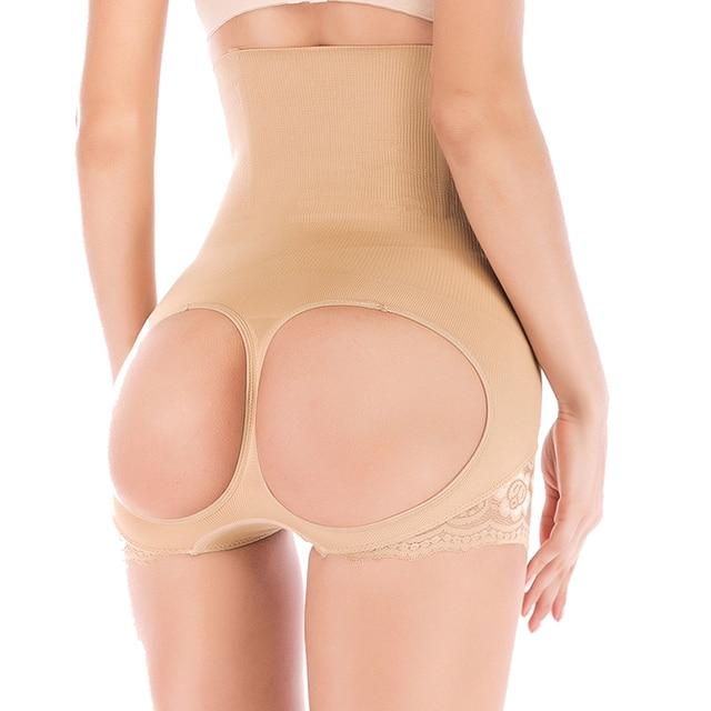 7f7dd7e47 High Waist Body Shaper Slimming Panties Butt Lift Booster Booty Lifter  Bonded control Tummy Hot Hip Enhancer Shapewear belly