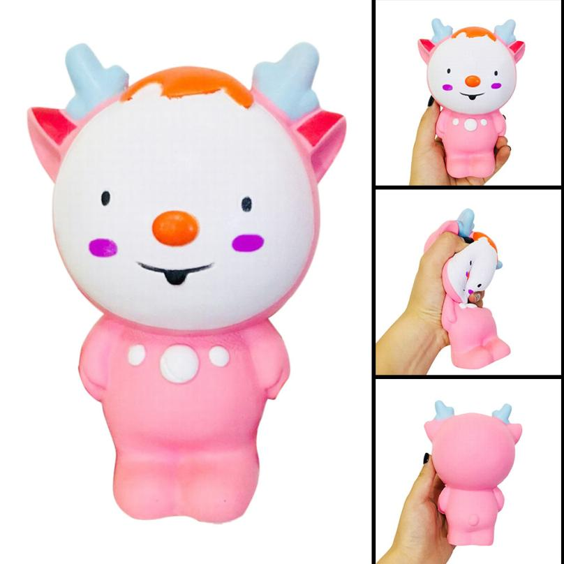 ISHOWTIENDA toy kids toy gift Fawn Elf Scented Slow Rising Collection Squeeze Stress Reliever Toy anti stress funny prank #20