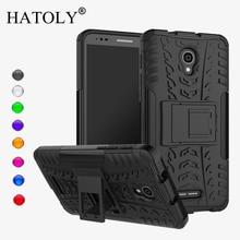 HATOLY For Case Alcatel Pop 4 Plus Cover Silicone & Plastic Kickstand Case For Alcatel Pop 4 Plus Case For Alcatel Pop 4+ 5056D цена в Москве и Питере
