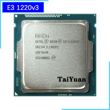 CPU Processor Intel Xeon Quad-Thread E3 1220v3 Lga 1150 Ghz 80W