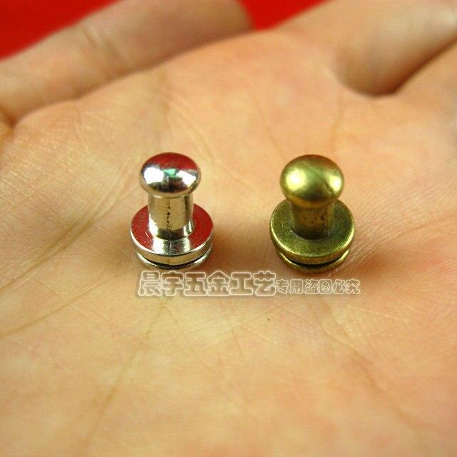 9.5*7.5mm 100pcs bronze classics brief mini handles for paper box ...