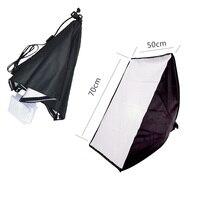 Lightdow 50x70 cm Foto Video Studio Licht Lamp Buis Softbox softbox E27