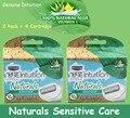 4 Cartuchos/conjunto Original Mulheres Lâminas de Barbear Intuição Sensível Naturais Cuidados 100% Natural Aloe + Vitamina e Axilas Bikini