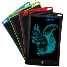 12 inch LCD Writing Tablet Message Graphics Memo Pads Office Board Kids Gifts Children Digital Pad