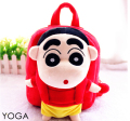 Candice guo plush toy stuffed doll schoolbag cartoon Crayon Shin chan funny  backpack Satchel shoulder bag package birthday gift