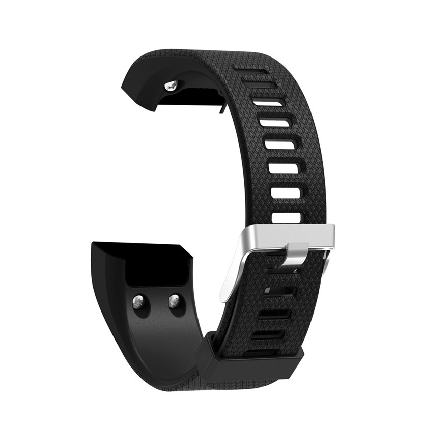 Replacement Soft Silicone Bracelet Sport Strap WristBand Accessory for Garmin Vivosmart HR+ July13#2 Dropship