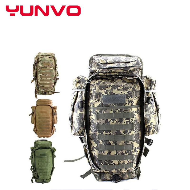 Military USMC Army Tactical Molle Hiking Hunting Camping Rifle Backpack Bag Climbing Bags outdoor sportsTravel bag Free Shipping
