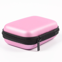 Tiny Macaron Wallet Case for mobile phone cable USB charger key and some make up phone