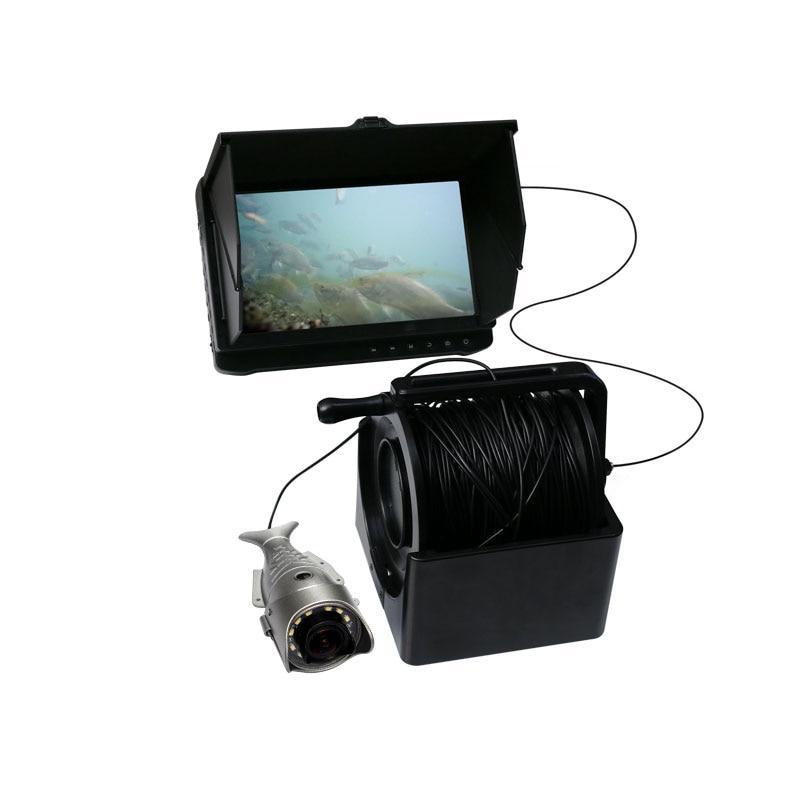 30 m 7 pouces full HD 2mp sony 170 degrés sous-marine pêche caméra avec réglable 12ir lumière