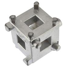 Автомобильный задний поршень тормозного диска втягивающее устройство инструмент ветровой обратно куб каллипер адаптер серебро автомобильные аксессуары