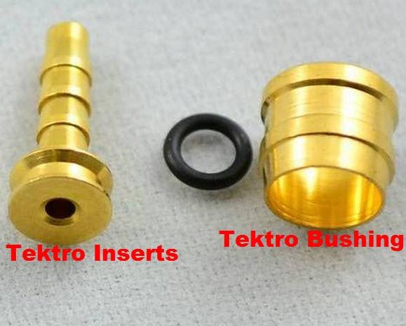 10 Sets Hydraulic Disc Brake Hose Olive Connector Insert for AVID SRAM Tektro