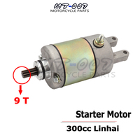 Linhai Feishen 9T Starter Motor fit YP250 250cc 300cc Engine Moped scooter ATV Universal High Quality