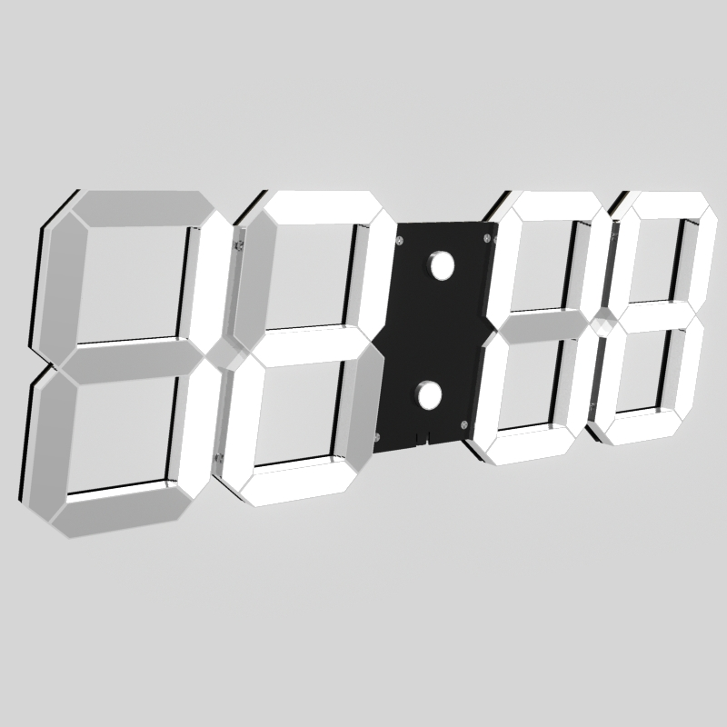 Retro new Chinese bedroom wall clock mute living room clock solid wood clock home retro creative wall clock in Wall Clocks from Home Garden