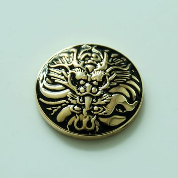 Wholesale ! 50pc 1-1/8'' Western Dragon Concho Saddlery Tack Belt Conchos Leathercraft Gold