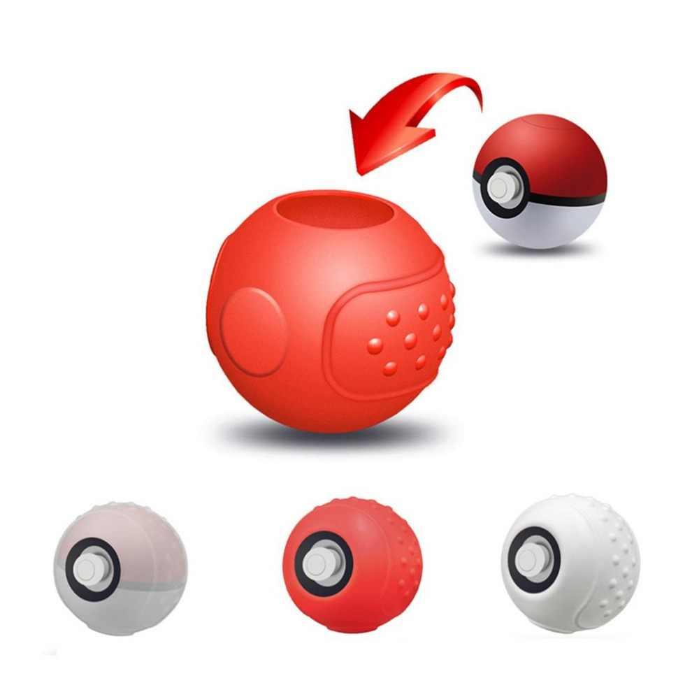 Silikonowy futerał ochronny do Poke Ball Plus kontroler przenośne podróży Pokeball skrzynka dla nintendo przełącznik akcesoria