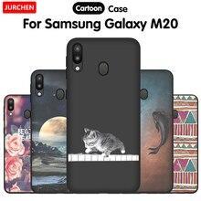 JURCHEN Cute Cartoon Case For Samsung Galaxy M20 Phone Case