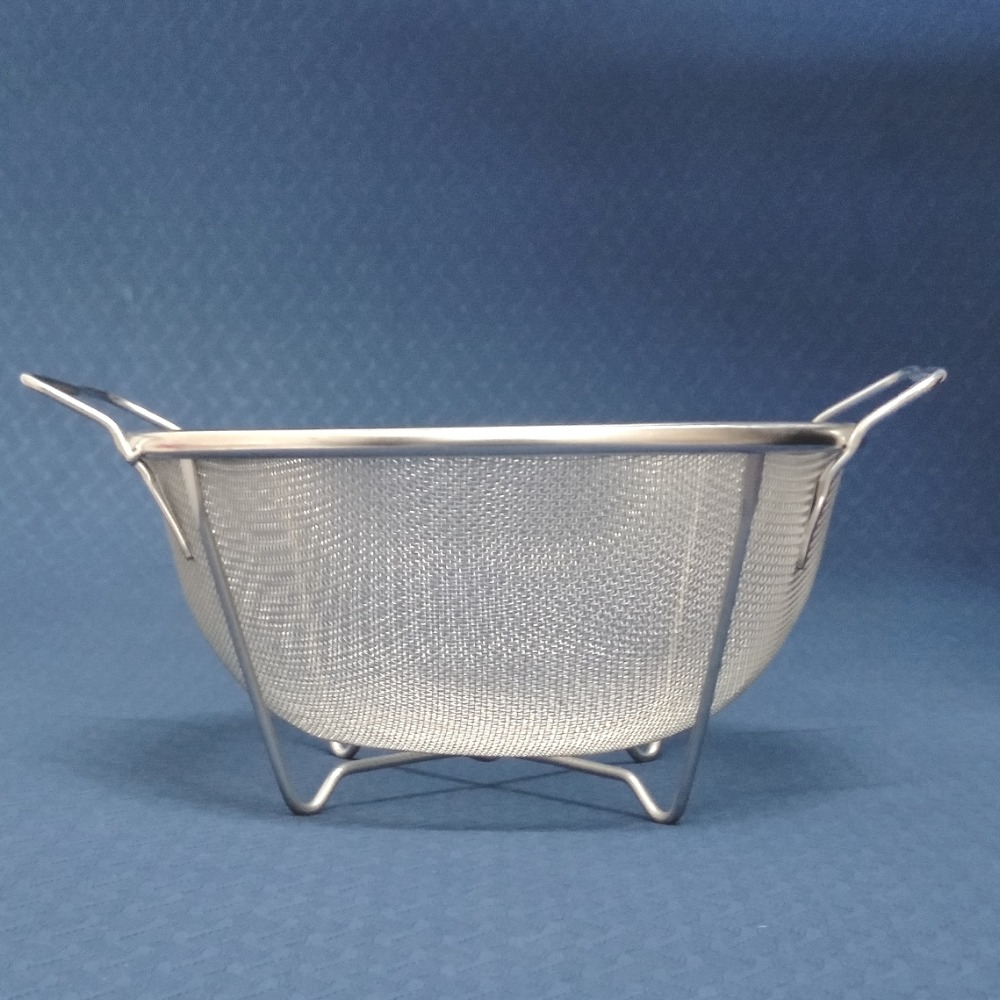 Free Shipping Stainless Steel Perforated Colander with Handle and ...