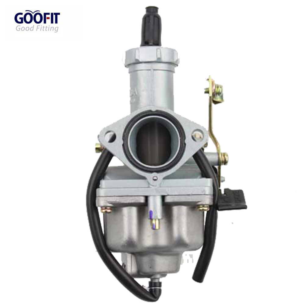 Goofit Pz27 Carburetor With Cable Choke For Honda 100cc 125cc