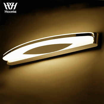 Free Shipping AC110 220V High Quality 8W LED Wall Lights Stainless Steel Wall Lamp Acrylic Lampshade Bathroom Mirror Lights - DISCOUNT ITEM  0% OFF All Category