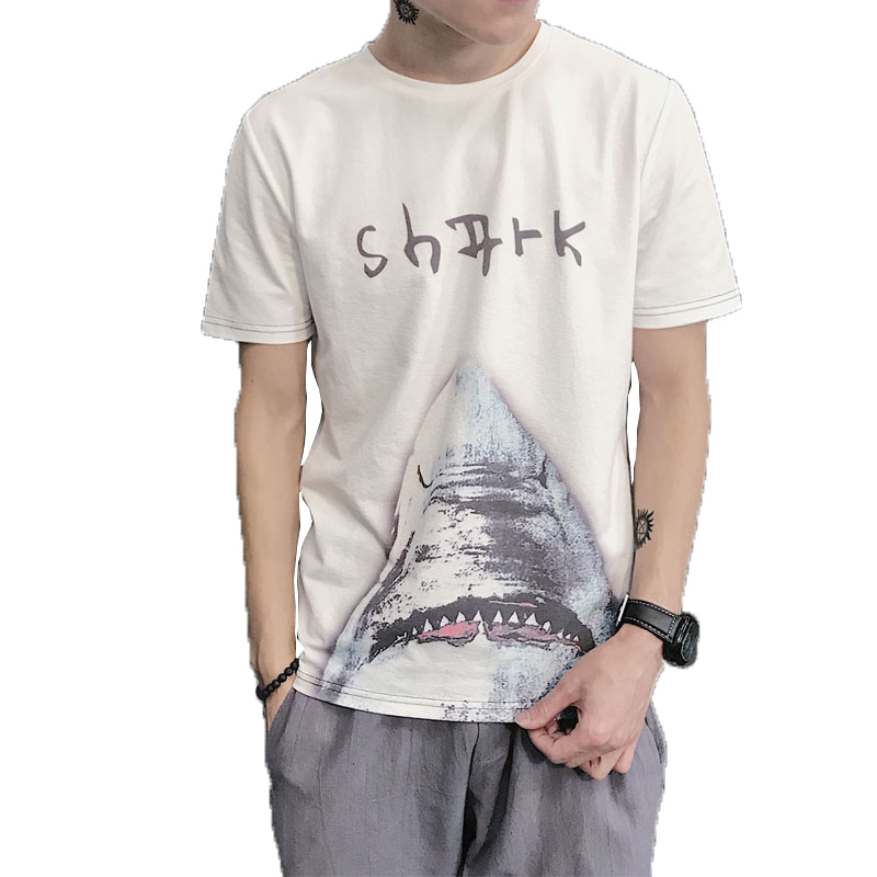 2018 Повседневное Для мужчин's футболка Для мужчин брендовая футболка животных мультфильм печатных футболки Лето Высокое качество битник тро...