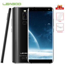 "LEAGOO S8 5.7"" HD IPS Bezel-Less Screen 4G Mobile Phones 4 Cameras Android 7.0 Octa Core 3GB+ 32GB Smartphone Fingerprint 13MP"