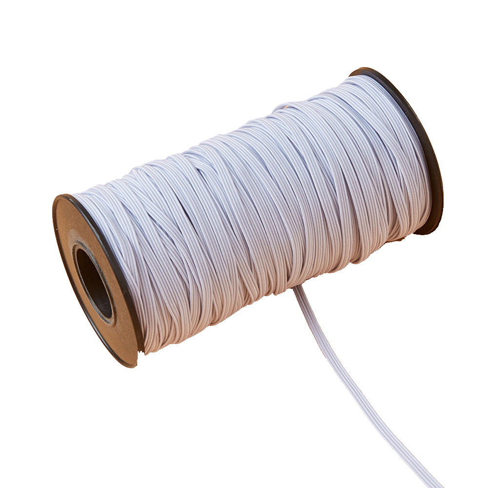 3 mm x 180 Meters Elastic Cord Thread for Sewing and Trimming Stretchy String for Making Waistbands Straps Bracelets Lingerie in Elastic Bands from Home Garden
