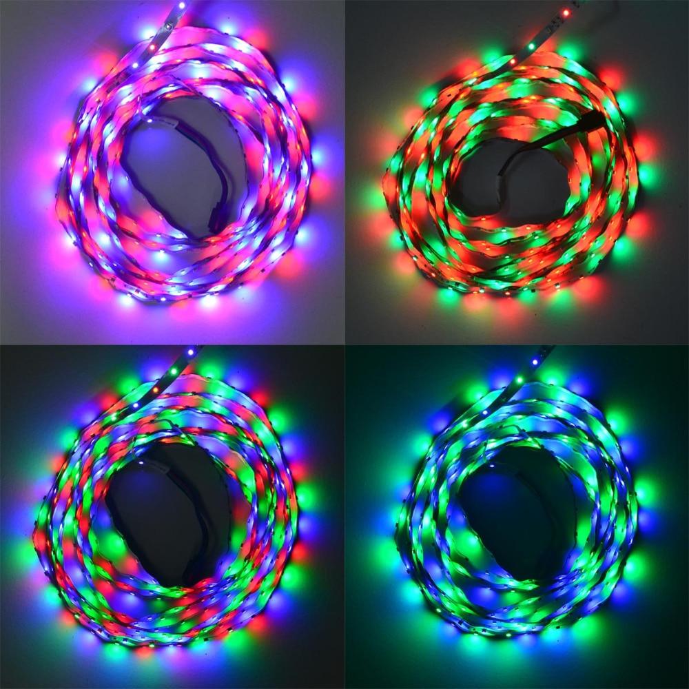 Jiawen 500CM 25W 300X3528 SMD RGB жарық диодты - LED Жарықтандыру - фото 5