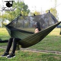 Mosquito net para a rede cama de acampamento portátil camping cadeira inflável