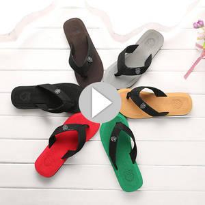 add45471004a8 mokingtop Summer Men s Flip Flops Shoes beach Slippers