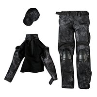 1/6 Doll Clothes Combat Uniform Costume Outfit Clothing for 12 Inch Male Action Figurine Doll Accessories Decoration Toys Gift