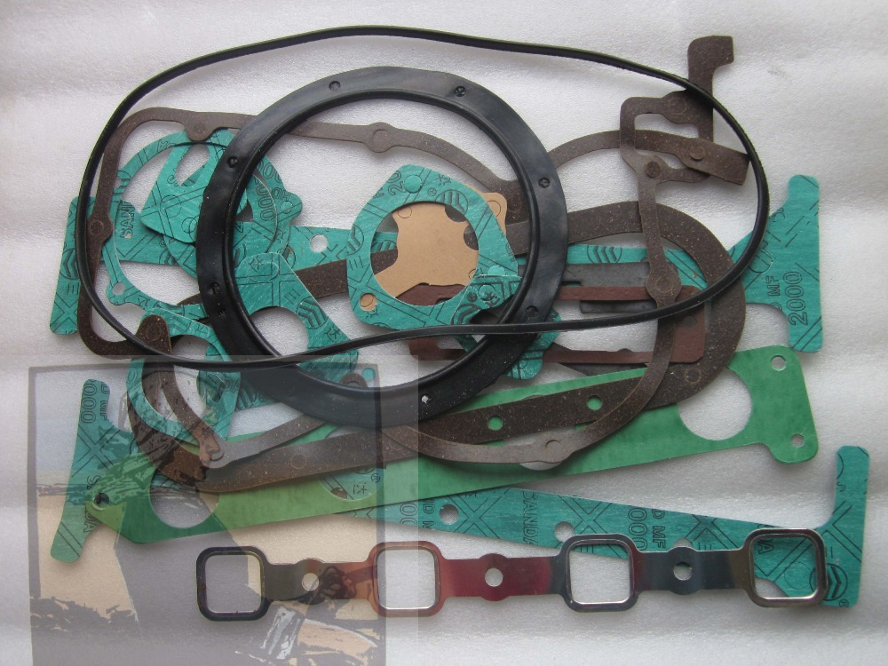 все цены на Shanghai 4102 engine parts, the set of gasket kit including the head gasket, part number: онлайн