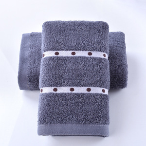 Image 5 - Home furnishing home comfortably thickened adult towel, pure cotton beauty salon, washcloth, gift towel, customized LOGO