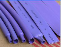 5 M/Lot Pourpre-2 MM 4 MM 6 MM 8 MM 10 MM 12 MM Assortiment 2:1 Polyoléfine Thermorétractable Tube Tube Gaines Câble Manches