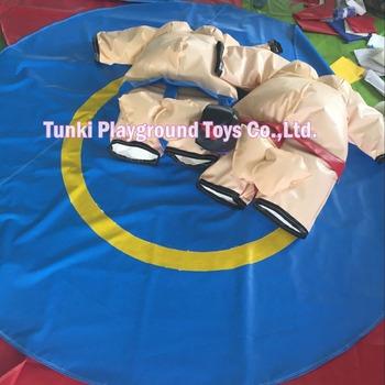 Nadmuchiwane sumo pasuje do areny zapaśniczej tanie i dobre opinie 8 lat Tkaniny Plac zabaw na świeżym powietrzu sumo suit TKSU