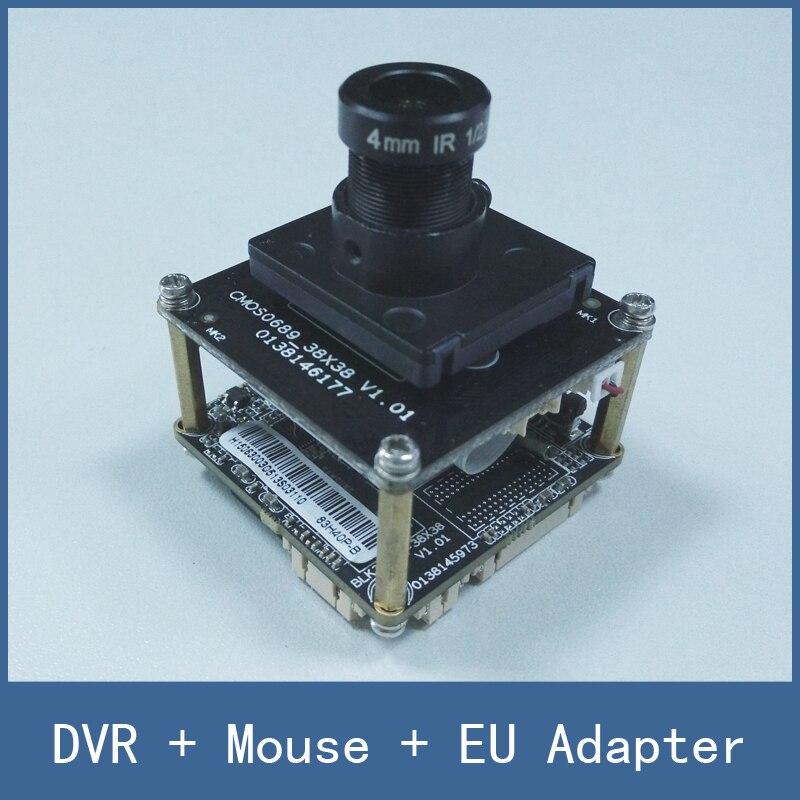 где купить Newest 4.0MP Low illumination CMOS IP Camera Module Kit, Dual-Core 32bit Hi3516D + 1/3