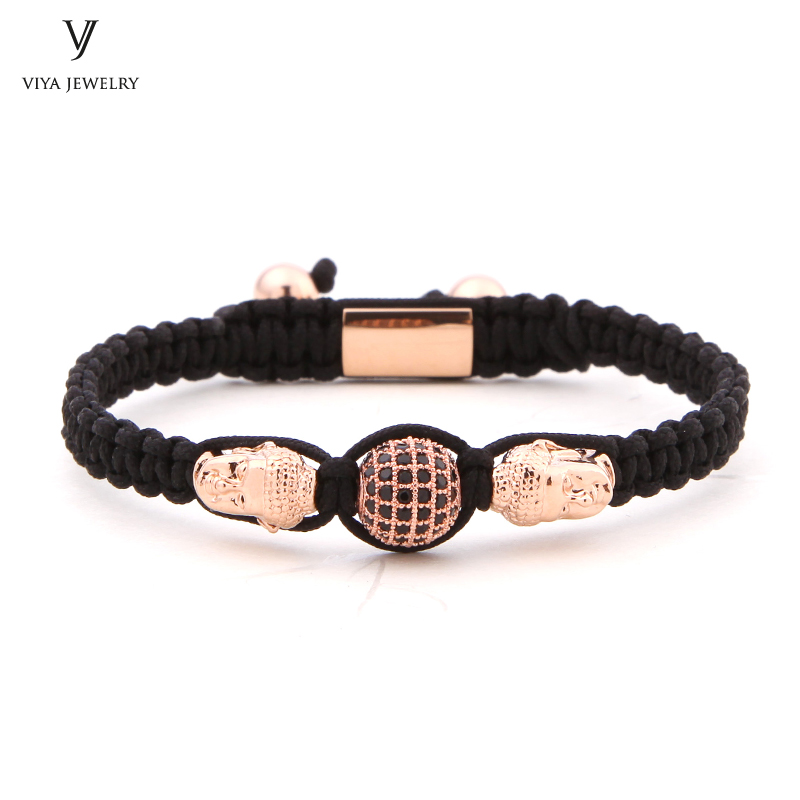 2017 New Fashion Beaded Bracelet Customize Couple Buddha Braided Rope Bracelet High-end Handmade Beads Bracelet For Men 2016 new waterproof black beads macrame bracelets for men women high end cz beads braided bracelet for watch boho men jewelry
