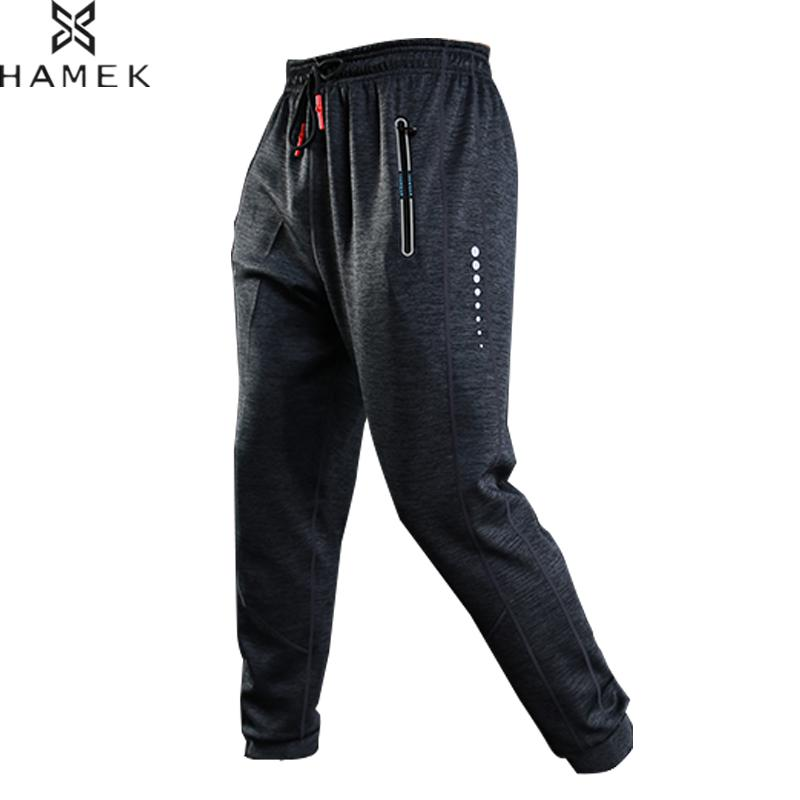 купить Male Sport Leggings Jogging Homme Basketball Fitness Legging Mens Quick Dry Pants Gym Leggings Outdoor Sport Pants Trousers по цене 1494.59 рублей